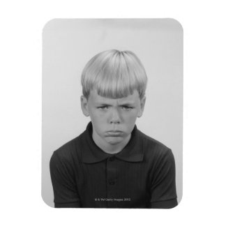 Boy Facial Expressions Vinyl Magnets