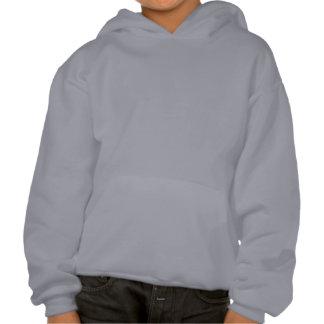 Boy Flying Paper Airplane Hooded Sweatshirts