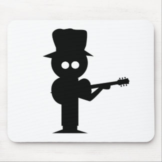 Boy Folk Singer Mouse Mat