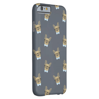Boy French Bulldog Print Barely There iPhone 6 Case