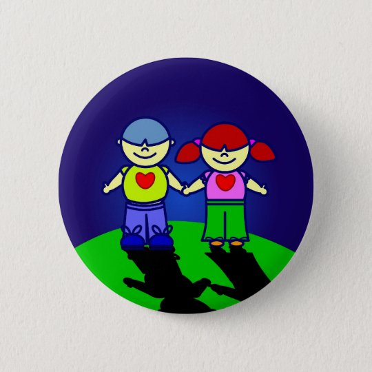 BOY & GIRL Button