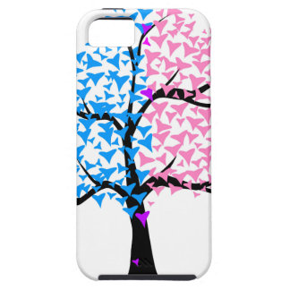 Boy Girl Hearts Tree iPhone 5 Case