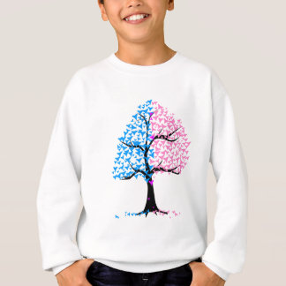 Boy Girl Hearts Tree Sweatshirt