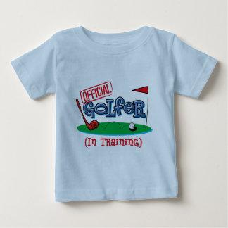 Boy Golfer In Training Baby T-Shirt