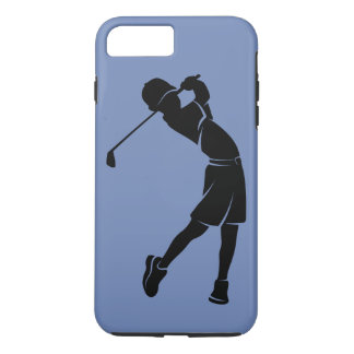 Boy Golfer Silhouette iPhone 8 Plus/7 Plus Case