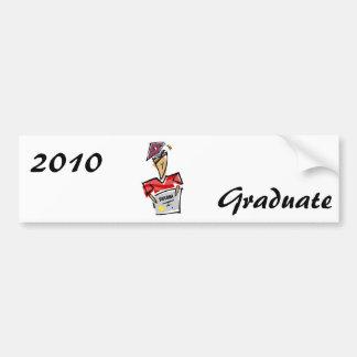 Boy Grad Car Bumper Sticker