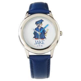 Boy Graduate Child Personalized Graduation Watch