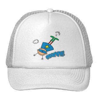 Boy Hero Flying Mesh Hat