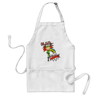 Boy Hero with Shield Aprons