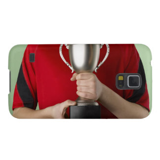 Boy Holding Trophy Galaxy S5 Cases