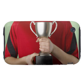 Boy Holding Trophy iPhone 3 Tough Cases