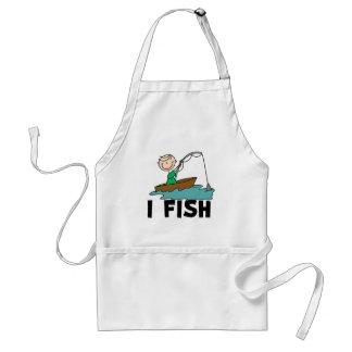 Boy I Fish  Standard Apron