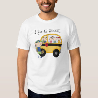 Boy I Go To School T-shirts and Gifts