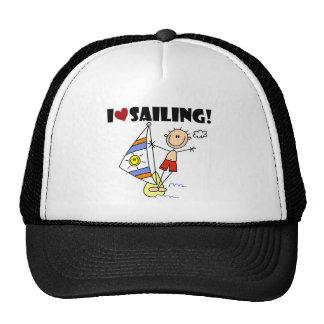 Boy I Love Sailing Hat