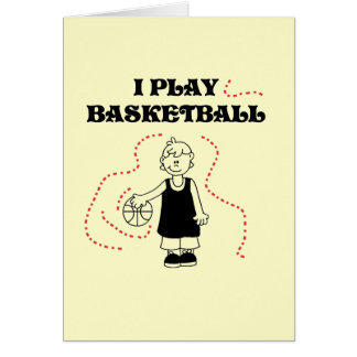 Boy I Play Basketball T-shirts and Gifts Cards