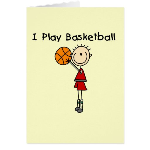 Boy I Play Basketball Tshirts and Gifts Cards