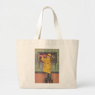Boy in Raincoat Bags