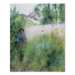 Boy in the Meadow Poster