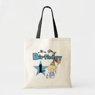 Boy It's My Birthday Tshirts and Gifts Budget Tote Bag