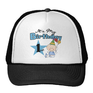 Boy It's My Birthday Tshirts and Gifts Cap