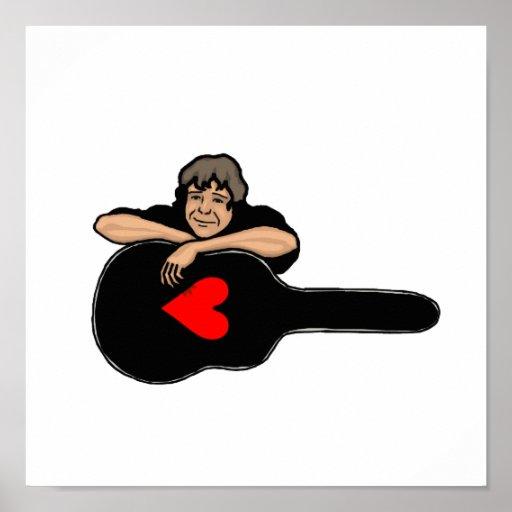 boy leaning on guitar case heart black shirt.png print