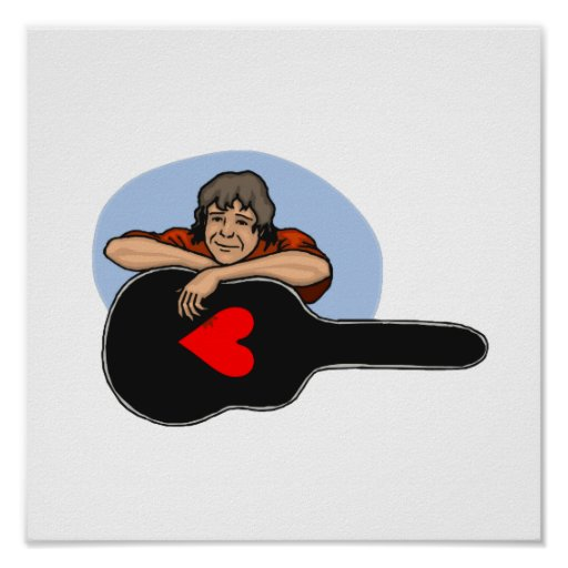 boy leaning on guitar case heart.png print