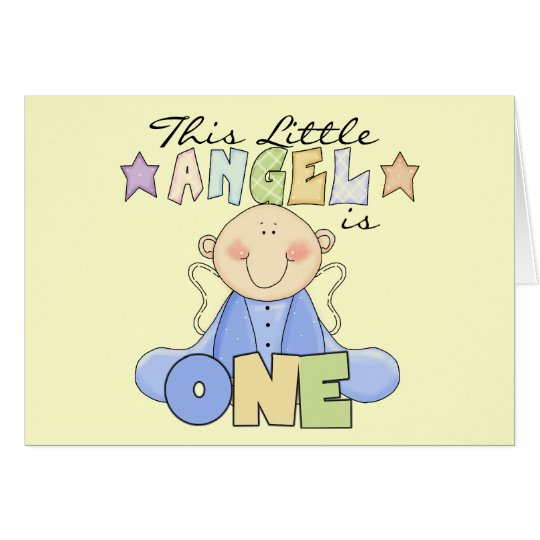 Boy Little Angel 1st Birthday Tshirts and Gifts