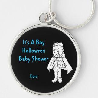 Boy Little Vampire Halloween Baby Shower KeyChains