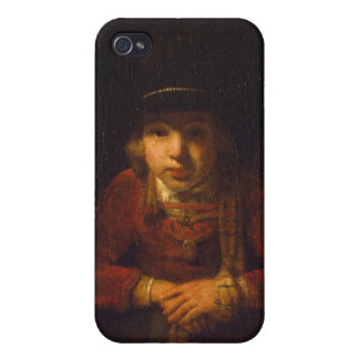 Boy Looking through the Window, c.1647 Case For The iPhone 4