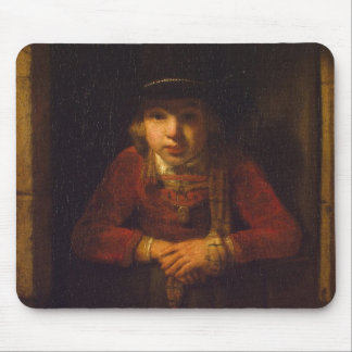Boy Looking through the Window c 1647 Mouse Pads