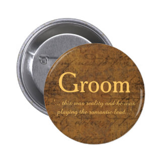 Boy Meets Boy Love Story Groom's Badge
