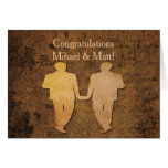 Boy Meets Boy Wedding Card for Gay Grooms