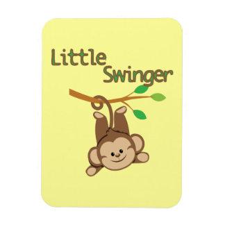 Boy Monkey Little Swinger Flexible Magnet