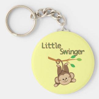 Boy Monkey Little Swinger Key Chains