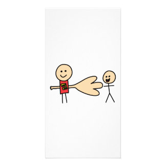 Boy Offering Shake Hand Peace Friend Friendship Picture Card