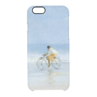 Boy on Bicycle  2 Clear iPhone 6/6S Case