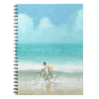 Boy on Bicycle  3 Notebooks