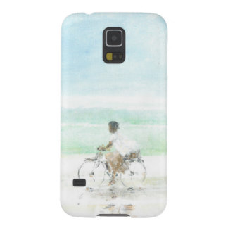 Boy on Bicycle Cases For Galaxy S5
