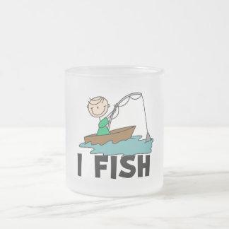 Boy on Boat I Fish Tshirts and Gifts Mugs