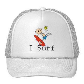 Boy on Surfboard Trucker Hat
