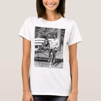 Boy & Orangutan Vintage National Zoo Washington T-Shirt