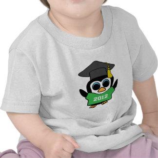 Boy Penguin Green & White 2012 Grad Tshirts