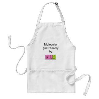 Boy periodic table name apron