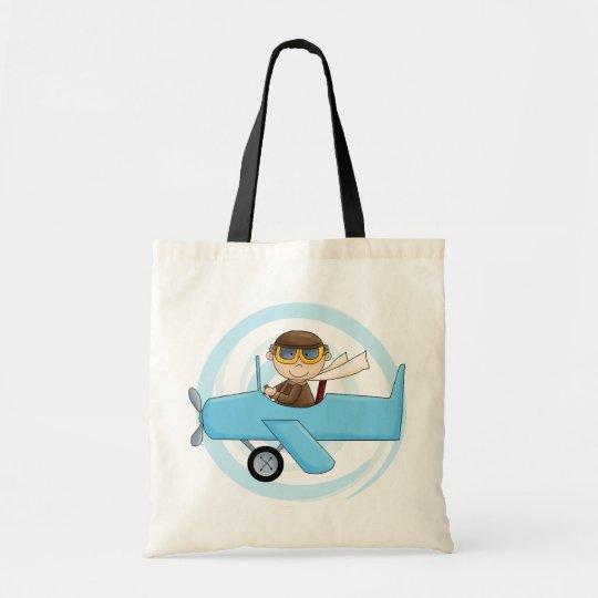 Boy Pilot Tshirts and Gifts Tote Bag