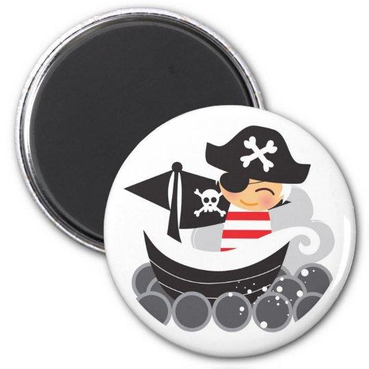 Boy Pirate Magnet