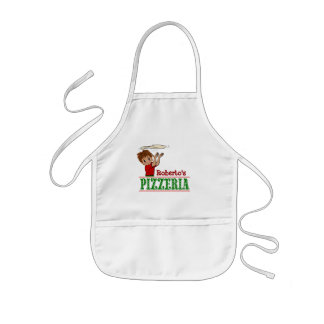 Boy Pizza Party Apron