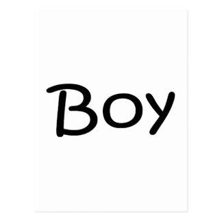 Boy Postcard