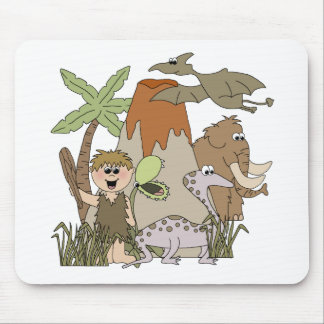 Boy Prehistoric LIfeTshirts and Gifts Mouse Pads
