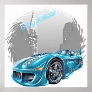 Boy Racer - Canvas Print