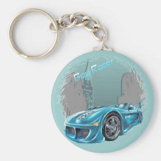 Boy Racer - Keychain